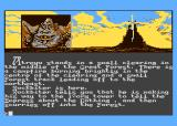 The Neverending Story Atari 8-bit Start game...