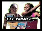 Tennis 2K2 Dreamcast Title Screen