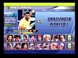 Tennis 2K2 Dreamcast Player Selection