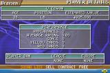 Premier Manager 2004-2005 Game Boy Advance Regarding detailed information about a player