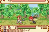 Summon Night Craft Sword Monogatari: Hajimari no Ishi Game Boy Advance First battle