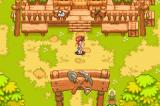 Summon Night Craft Sword Monogatari: Hajimari no Ishi Game Boy Advance In the miners' town