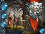 The Lost Kingdom Prophecy Windows Main menu