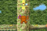 Domokun no Fushigi Terebi Game Boy Advance Climbing a tree