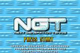 NGT: Next Generation Tennis Game Boy Advance Title screen