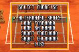 Roland Garros French Open 2002 Game Boy Advance How shall the balls be distributed?