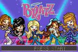 Bratz Game Boy Advance Title screen
