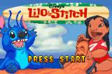 Disney's Lilo & Stitch Game Boy Advance Title screen