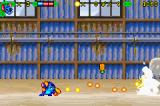 Disney's Lilo & Stitch Game Boy Advance Shooting a pineapple shooter