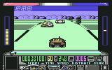 Chase H.Q. Commodore 64 Halfway towards killing the yellow car