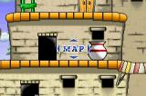 Woody Woodpecker in Crazy Castle 5 Game Boy Advance You can examine the level freely in map mode