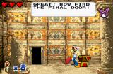 Woody Woodpecker in Crazy Castle 5 Game Boy Advance Got the final key