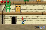 Woody Woodpecker in Crazy Castle 5 Game Boy Advance You can find items like this gun