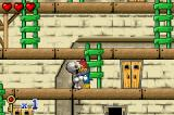 Woody Woodpecker in Crazy Castle 5 Game Boy Advance Caught by a mummy