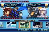Mobile Suit Gundam Seed: Battle Assault Game Boy Advance Stage selection