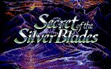 Secret of the Silver Blades PC-98 Title screen