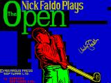 Nick Faldo Plays The Open ZX Spectrum Load screen