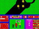 Nick Faldo Plays The Open ZX Spectrum Landed short of the hole. I'll use a wedge to get to the green