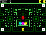 Gnasher ZX Spectrum Start of game. The square energy pills in the corners flash on & off