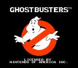 Ghostbusters NES Title