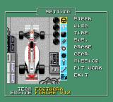 F1 Circus '91 TurboGrafx-16 Adjusting the cart