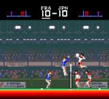SUPER Volley ball TurboGrafx-16 Going to dash