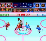 Hit the Ice: The Video Hockey League TurboGrafx-16 Face off