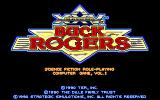 Buck Rogers: Countdown to Doomsday DOS The 25th Century Buck Rogers