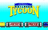 Sid Meier's Railroad Tycoon PC-98 How cute, Micro Prose on a train :)