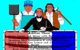 Sid Meier's Railroad Tycoon PC-98 Tasteful credits screen...