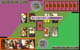 Injū Genmu PC-98 Hanafuda game in progress
