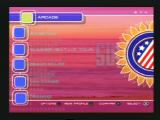 Summer Heat Beach Volleyball PlayStation 2 Main menu