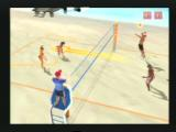 Summer Heat Beach Volleyball PlayStation 2 He's gonna try and spike it past me