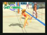 Summer Heat Beach Volleyball PlayStation 2 The scenery during a court change