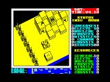 Nether Earth ZX Spectrum This is your home base. The enemy base is at the far east of the battle zone.