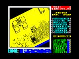 Nether Earth ZX Spectrum Your 'cursor' takes the form of a small hovercraft which helps you scout the terrain ahead.
