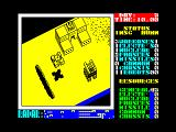 Nether Earth ZX Spectrum An enemy tank is about to take a supply factory over.