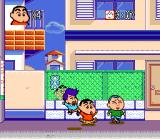 Crayon Shin-chan: Arashi o Yobu Enji Genesis Watch out for the neighborhood kids