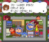Crayon Shin-chan: Arashi o Yobu Enji Genesis Playing a rock-paper-scissors game