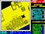 Nether Earth ZX Spectrum Starting the game
