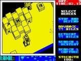 Nether Earth ZX Spectrum Giving the orders to my robot