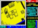 Nether Earth ZX Spectrum One of my robots was defeated
