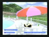 Summer Heat Beach Volleyball PlayStation 2 The beach house where you can view unlocked extras and other stuff