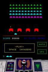 Space Invaders Revolution Nintendo DS Classic mode, in all it's retro glory.
