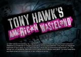 Tony Hawk's American Wasteland PlayStation 2 Title screen.