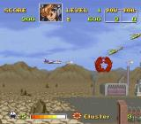 U.N. Squadron SNES Blowing away some choppers