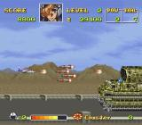 U.N. Squadron SNES End-level boss for the first level