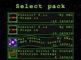 Wizznic! Windows Selecting other pack.
