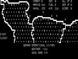Battle for Normandy TRS-80 Turn 1 complete with option to save to tape