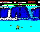 Yie Ar Kung-Fu BBC Micro Feedle. Never seen, but attacks you by throwing various items at you from both sides.